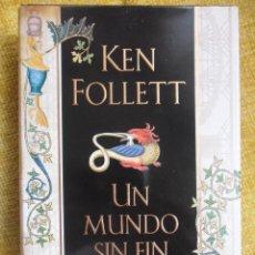 Libros de segunda mano: UN MUNDO SIN FIN. KEN FOLLETT. LA CONTINUACION DE LOS PILARES DE LA TIERRA. CIRCULO DE LECTORES. TAP. Lote 51135070