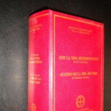 Libros de segunda mano: CON LA VIDA HICIERON FUEGO; CUATRO EN LA PIEL DE TORO /JESUS EVARISTO CASARIEGO, CLEMENTE CIMORRA. Lote 51579641