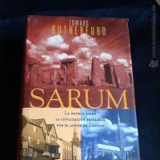 Libros de segunda mano: SARUM. EDWARD RUTHERFURD. Lote 53000170