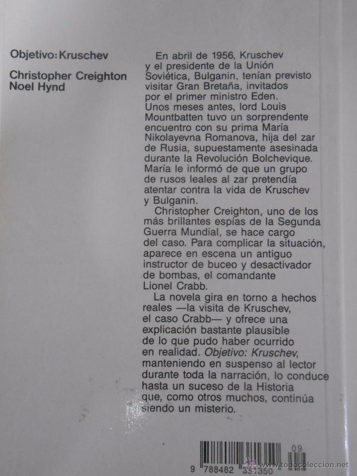 Libros de segunda mano: Objetivo, Kruschev. - Creighton, Christopher. Hynd, Noel. TDK189 - Foto 2 - 53078141