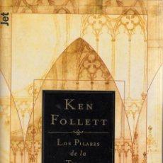 Libros de segunda mano: LOS PILARES DE LA TIERRA. KEN FOLLET.. Lote 53794962
