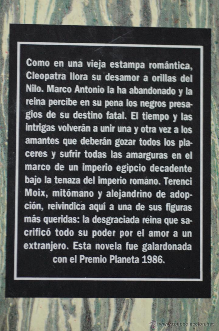 Libros de segunda mano: NO DIGAS QUE FUE UN SUEÑO, POR TERENCI MOIX - Foto 2 - 53840442