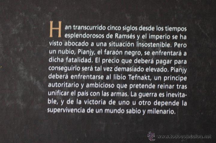 Libros de segunda mano: EL FARAON NEGRO, POR CHRISTIAN JACQ - Foto 2 - 53840465