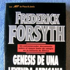 Libros de segunda mano: GENESIS DE UNA LEYENDA AFRICANA ( GUERRA NIGERIA-BIAFRA ) - FREDERICK FORSYTH. PLAZA-JANES 1993.. Lote 54444582