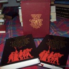 Libros de segunda mano: GÁRGORIS HABIDIS.UNA HISTORIA MÁGICA DE ESPAÑA. 2 TOMOS. INCLUYE ESTUCHE.1983. EDICIÓN DE LUJO!!!!!. Lote 67521831