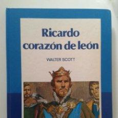 Libros de segunda mano: LIBRO EDELVIVES 1986 , RICARDO CORAZON DE LEON , WALTER SCOTT. Lote 55154530