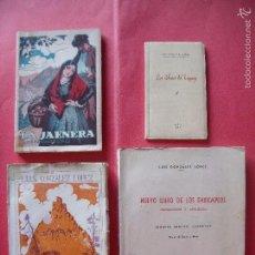 Libros de segunda mano: LUIS GONZALEZ LOPEZ.-LOS DEBATES DEL LENGUAJE.-LA JAENERA.-LA OTRA.-NUEVO LIBRO DE LOS ENXIEMPLOS.. Lote 55364264