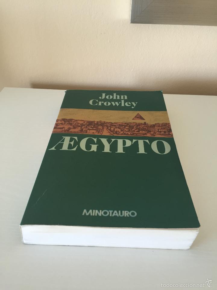 libro aegypto john crowley