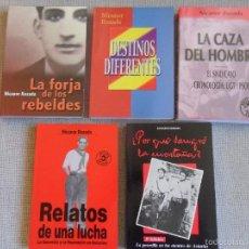 Libros de segunda mano: NICANOR ROZADA. IRREPETIBLE LOTE DE 5 LIBROS: ¿POR QUE SANGRO LA MONTAÑA?. (LA GUERRILLA EN LOS MONT. Lote 58013549