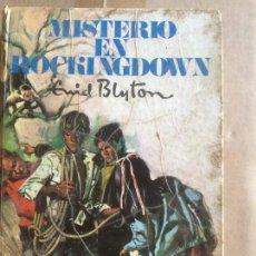 Libros de segunda mano: ANTIGUO LIBRO MISTERIO EN ROCKINGDOWN AÑO 1958 ESCRITO POR EMID BLYTON . Lote 58297258