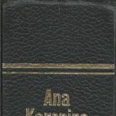 Libros de segunda mano: LEON TOLSTOI. ANA KARENINA. OBRA COMPLETA. BRUGUERA 1971. ENCUADERNACION Y EDICION CUIDADA GUAFLEX . Lote 58473093