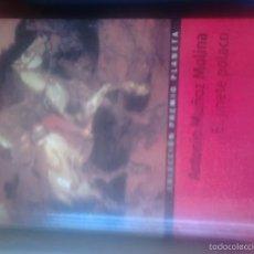 Libros de segunda mano: EL JINETE POLACO. ANTONIO MUÑOZ MOLINA. Lote 59210780