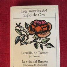 Libros de segunda mano: TRES NOVELAS DEL SIGLO DE ORO 5ª EDICIÓN PLANETA. Lote 59651359