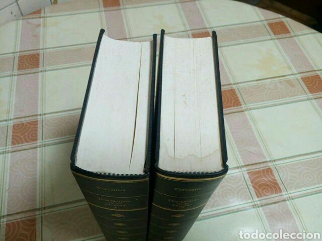 Libros de segunda mano: DON QUIJOTE DE LA MANCHA - MIGUEL DE CERVANTE - COLECCIÓN RBA EN DOS TOMOS AÑO 1994 - Foto 3 - 62678952