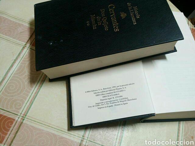 Libros de segunda mano: DON QUIJOTE DE LA MANCHA - MIGUEL DE CERVANTE - COLECCIÓN RBA EN DOS TOMOS AÑO 1994 - Foto 4 - 62678952