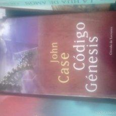 Libros de segunda mano: CÓDIGO GÉNESIS. JOHN CASE. Lote 62952348