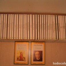 Libros de segunda mano: EPISODIOS NACIONALES. CUARENTA Y TRES TOMOS. (FALTAN LOS TOMOS 22, 27 Y 45). RMT77299. . Lote 64847287