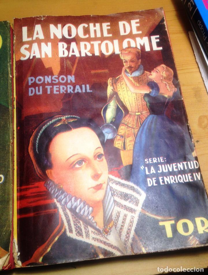 Libros de segunda mano: ALEJANDRO DUMAS- 3 NOVELAS AÑOS 50. EDITORIAL TOR.. - Foto 2 - 65882054