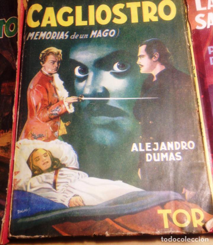 Libros de segunda mano: ALEJANDRO DUMAS- 3 NOVELAS AÑOS 50. EDITORIAL TOR.. - Foto 3 - 65882054