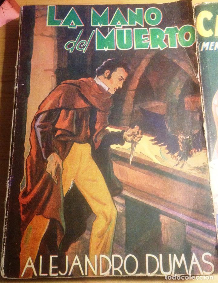 Libros de segunda mano: ALEJANDRO DUMAS- 3 NOVELAS AÑOS 50. EDITORIAL TOR.. - Foto 4 - 65882054