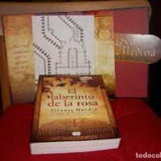 Libros de segunda mano: EL LABERINTO DE LA ROSA - EDICION DE LUJO. CARPETA CON TAPA DURA, CLAVES Y PLANOS. Lote 67718269
