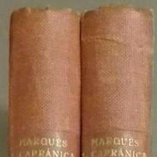 Libros de segunda mano: SIXTO V. HISTORIA DEL SIGLO XVI. MARQUÉS LUIS CAPRÁNICA. OBRA COMPLETA 2 TOMOS. RAMON SOPENA. 1930. Lote 68127021