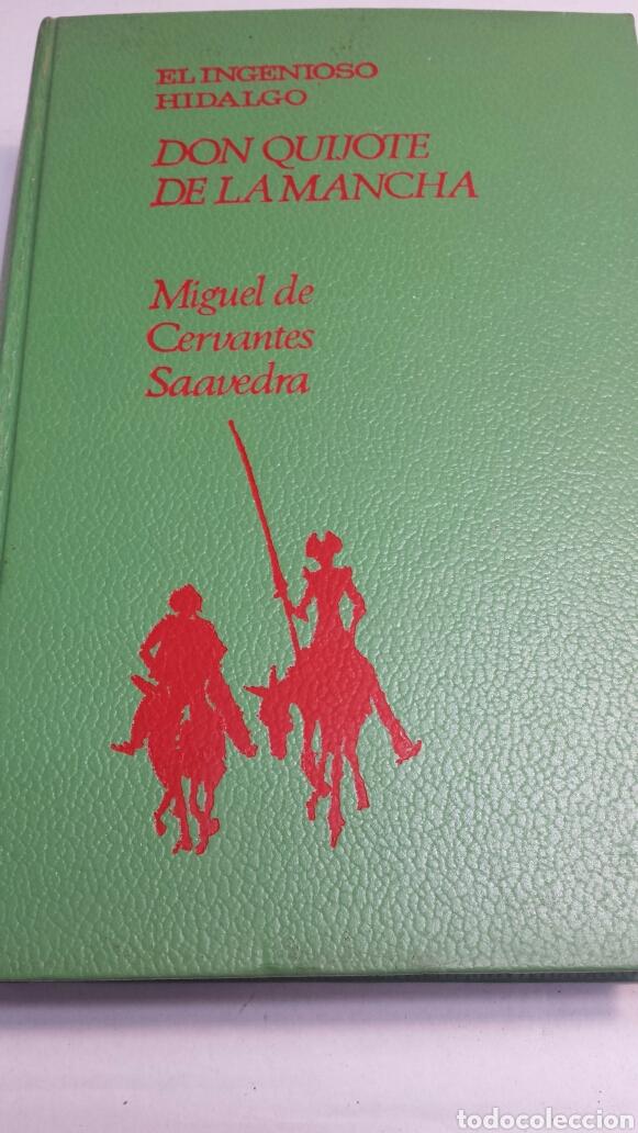 EL INGENIOSO HIDALGO DON QUIJOTE DE LA MANCHA - MIGUEL DE CERVANTES - EDITORIAL MOLINO AÑO 1966 (Libros de Segunda Mano (posteriores a 1936) - Literatura - Narrativa - Novela Histórica)