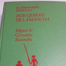 Libros de segunda mano: EL INGENIOSO HIDALGO DON QUIJOTE DE LA MANCHA - MIGUEL DE CERVANTES - EDITORIAL MOLINO AÑO 1966. Lote 68180021