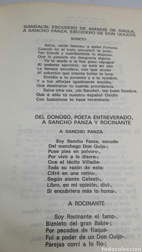 Libros de segunda mano: EL INGENIOSO HIDALGO DON QUIJOTE DE LA MANCHA - MIGUEL DE CERVANTES - EDITORIAL MOLINO AÑO 1966 - Foto 3 - 68180021