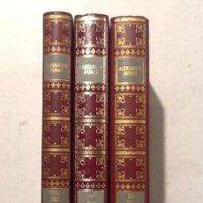Libros de segunda mano: LOS TRES MOSQUETEROS TOMOS I Y II VEINTE AÑOS DESPUES TOMO III ALEJANDRO DUMAS.. Lote 195482393
