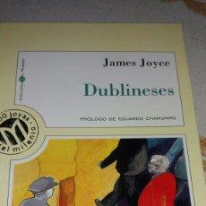 Libros de segunda mano: DUBLINESES DE JAMES JOYCE. Lote 69281642