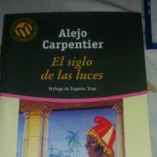 Libros de segunda mano: EL SIGLO DE LAS LUCES DE ALEJO CARPENTIER. Lote 69544721