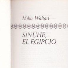 Libros de segunda mano: SINUHE, EL EGIPCIO. Lote 70302909