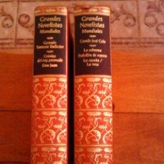 Libros de segunda mano: GRANDES NOVELISTAS MUNDIALES. Lote 71367539