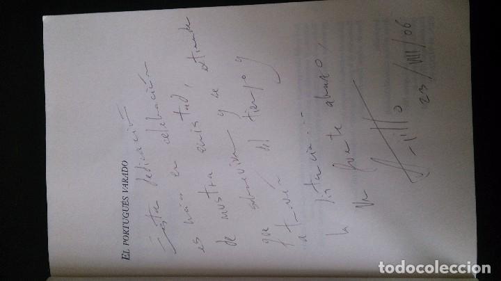 Libros de segunda mano: EL PORTUGUÉS VARADO - DEDICADO AUTOR - GUANCHES CANARIAS - - Foto 2 - 71717415