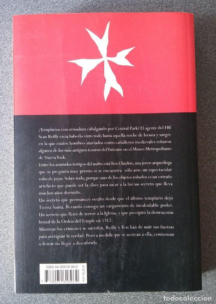 Libros de segunda mano: La Orden del Temple - Foto 2 - 73783211