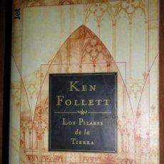 Libros de segunda mano: LOS PILARES DE LA TIERRA, KEN FOLLET, ED. DEBOLSILLO. Lote 73892023