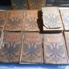 Libros de segunda mano: LAS LUCHAS FRATRICIDAS DE ESPAÑA. ALFONSO DANVILA. ESPASA-CALPE. AÑOS 50. LOTE DE 12 LIBROS EN TAPA . Lote 73983247