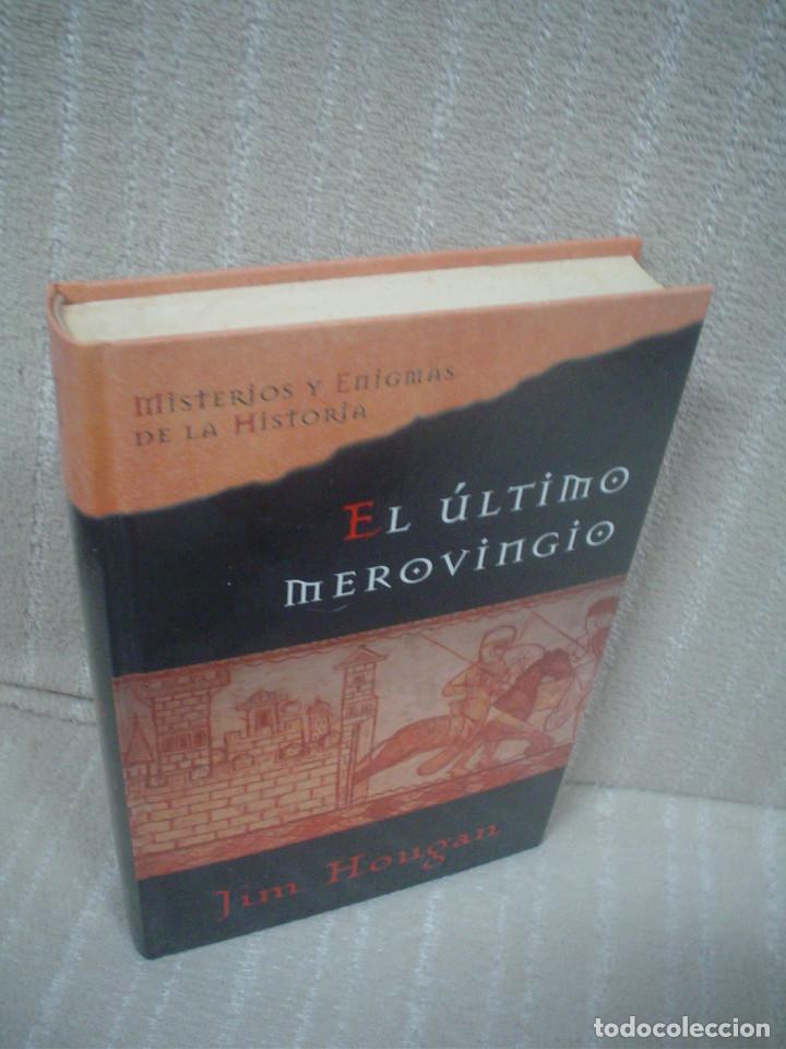 JIM HOUGAN: EL ÚLTIMO MEROVINGIO (Libros de Segunda Mano (posteriores a 1936) - Literatura - Narrativa - Novela Histórica)