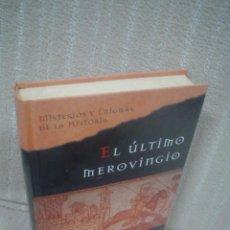 Libros de segunda mano: JIM HOUGAN: EL ÚLTIMO MEROVINGIO. Lote 74141147