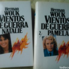 Libros de segunda mano: VIENTOS DE GUERRA.HERMAN WOUK.2 TOMOS.CIRCULO DE LECTORES.PASTA DURA CON SOBRECUBIERTAS.. Lote 75029563