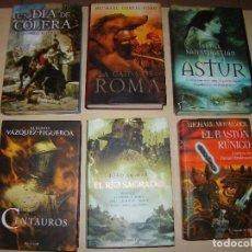 Libros de segunda mano: LOTE DE 6 LIBROS - NOVELA HISTÓRICA. Lote 76680171