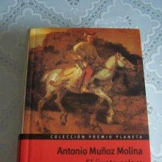 Libros de segunda mano: COLECCIÓN PREMIO PLANETA. ANTONIO MUÑOZ MOLINA. EL JINETE POLACO. PREMIO PLANETA 1991.. Lote 77117009