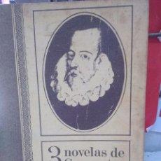 Libros de segunda mano: 3 NOVELAS DE CERVANTES. SELECCIONES DEL READER'S DIGEST. . Lote 79780245