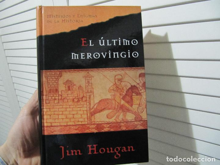 EL ÚLTIMO MEROVINGIO - JIM HOUGAN (Libros de Segunda Mano (posteriores a 1936) - Literatura - Narrativa - Novela Histórica)