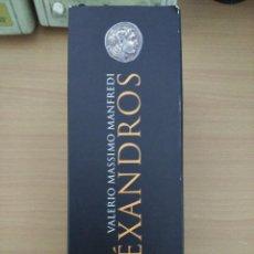 Libros de segunda mano: ALEXANDROS (3VOLS) 1- EL HIJO DEL SUEÑO 2- LAS ARENAS DE AMON 3- EL CONFIN DEL MUNDO MANFREDI, VALE . Lote 80160577