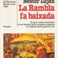 Libros de segunda mano: GUERRA CIVIL - LA RAMBLA FA BAIXADA. Lote 81922668