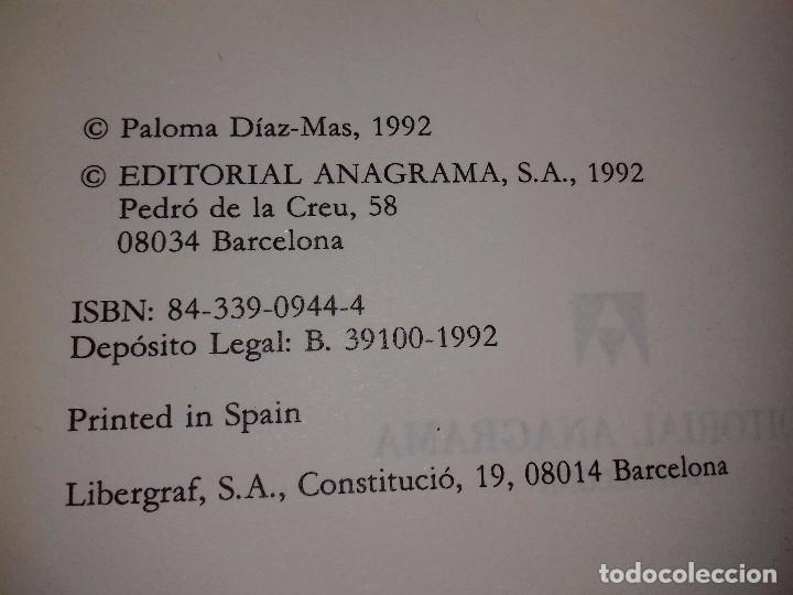 Libros de segunda mano: EL SUEÑO DE VENECIA - PALOMA DIAZ - MAS-ANAGRAMA-NARRATIVAS HISPANICAS-1992 - Foto 2 - 82150416