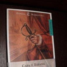 Libros de segunda mano: NOVELA CAPA Y ESPADA,FERNANDO FERNA GOMEZ,ESPASA. Lote 82277356