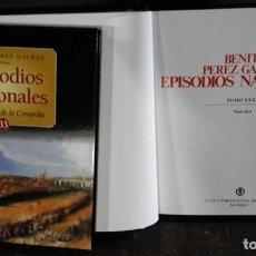 Libros de segunda mano: EPISODIOS NACIONALES DE BENITO PÉREZ GALDÓS; 46 TOMOS; OBRA COMPLETA. Lote 82787784